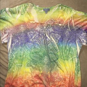 Women's colorful top